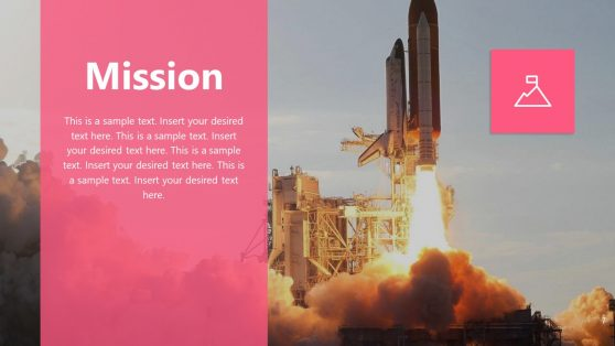 Slide of Mission in Invictus Template