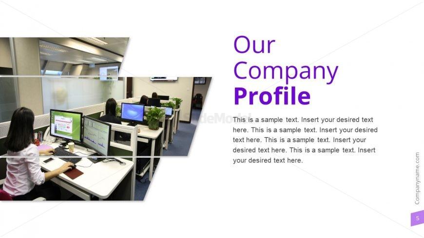 Company Slide PowerPoint Nativa