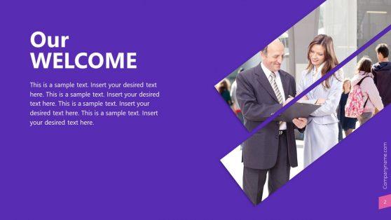 Company Presentation Caesar PowerPoint