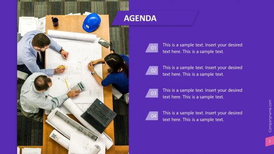 PowerPoint Presentation Agenda Template