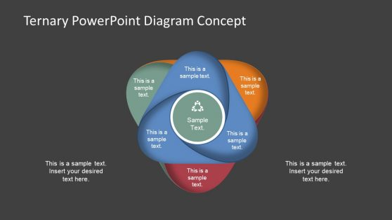 Editable PowerPoint Diagram Triangle