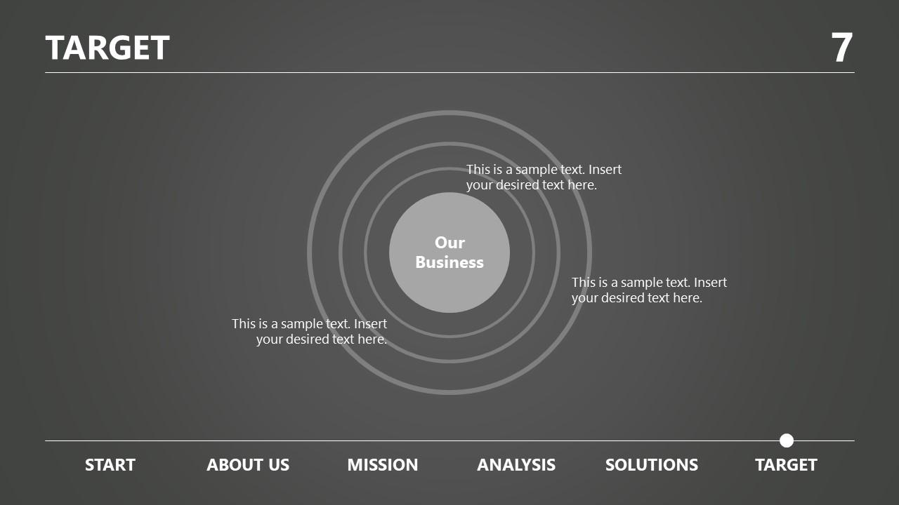 Design of Target Business presentation