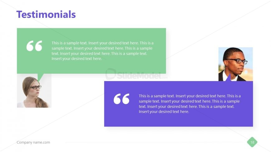 Quotes Template for Business Profile