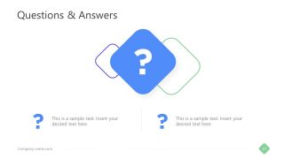Question and Answer Slide Template