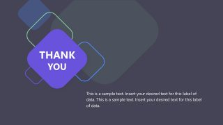 Slide of Thank You Last Layout