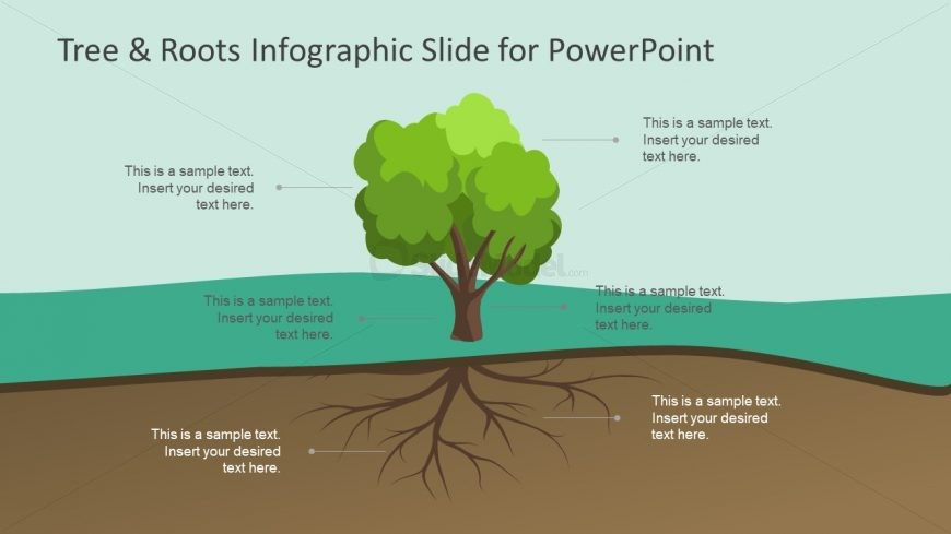 Infographic PowerPoint Label Diagram