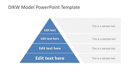 Pyramid Diagram Hierarchy PowerPoint
