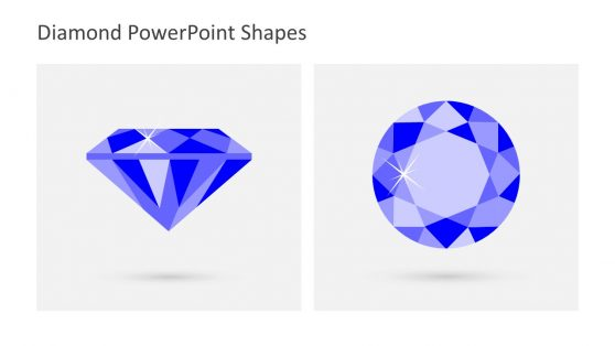 Diamond Shape PowerPoint Diagram