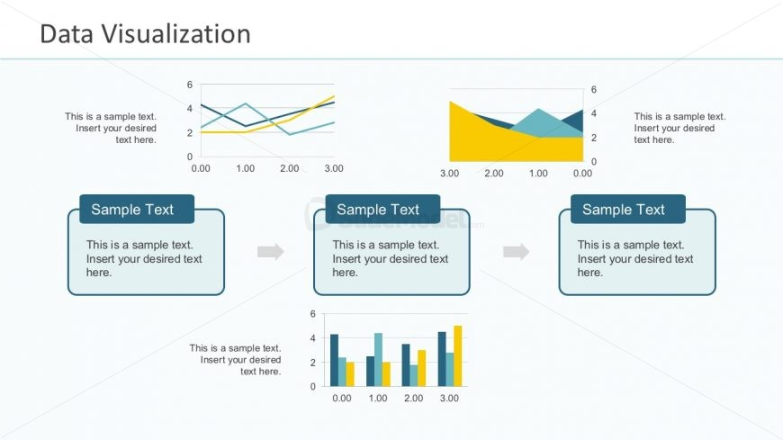 Data Visualization Template Slide PowerPoint