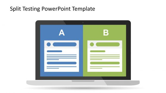Split testing PowerPoint Design