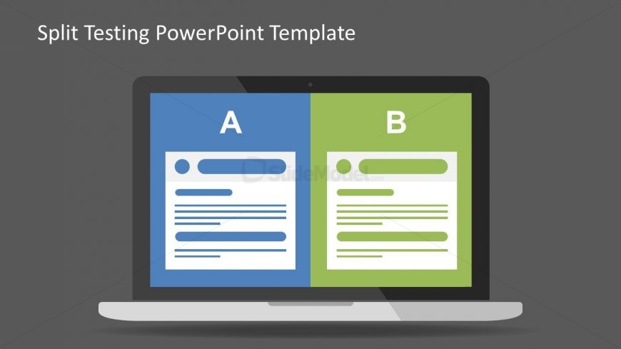 PowerPoint Split Comparison Presentation