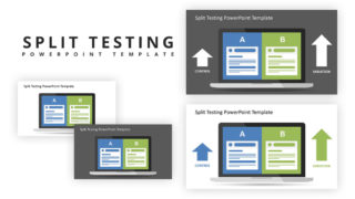 Split Testing PowerPoint Template