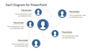 Swirl Diagram for PowerPoint