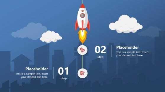 Vertical Timeline Infographic PowerPoint