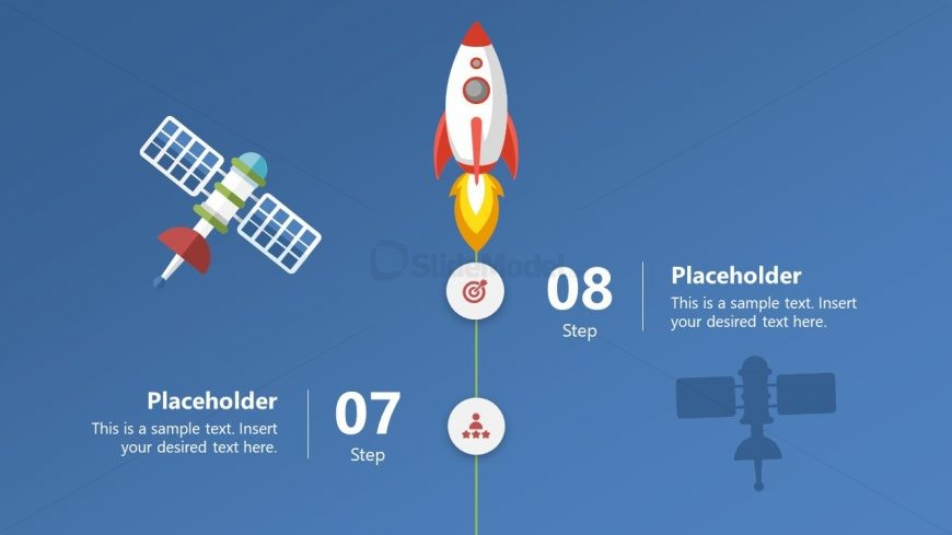 Space Concepts PowerPoint Timeline