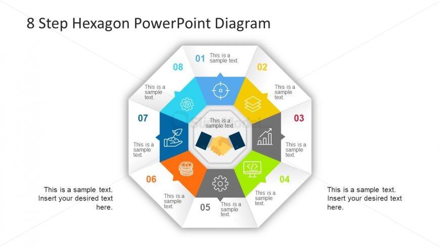 Hexagonal PowerPoint Diagram Cycle