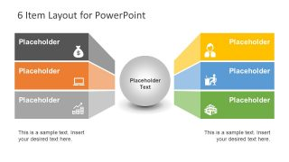 6 Item Layout for PowerPoint