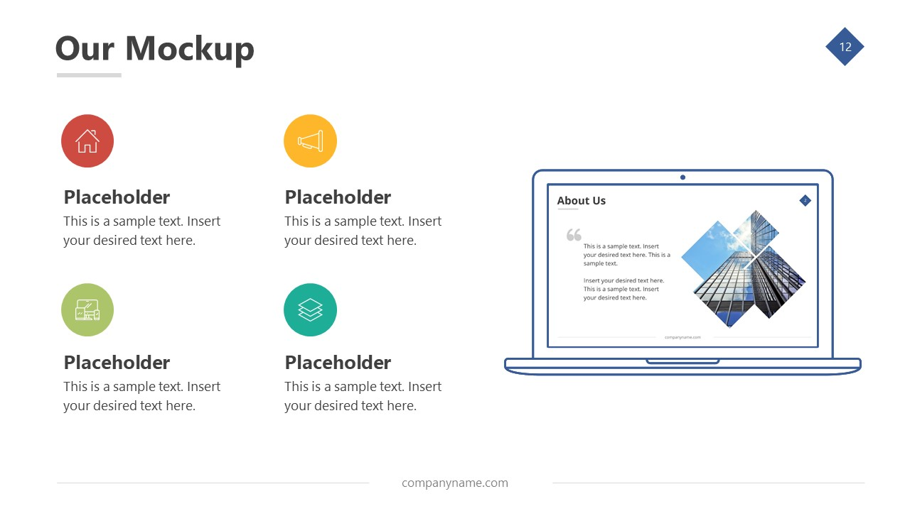 Infographic Bullet List PowerPoint