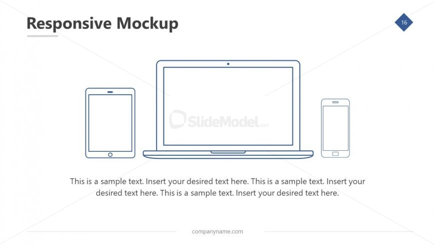 Laptop Screen Display Design
