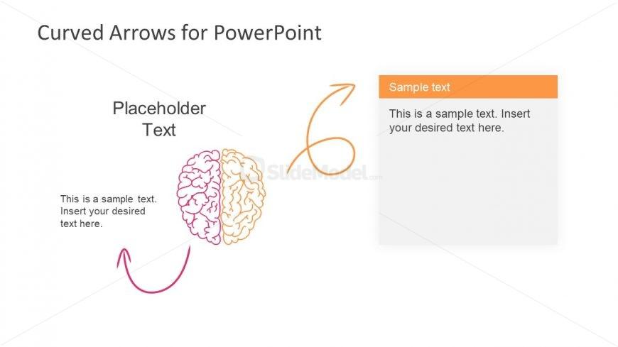 Brain Shape PowerPoint Template