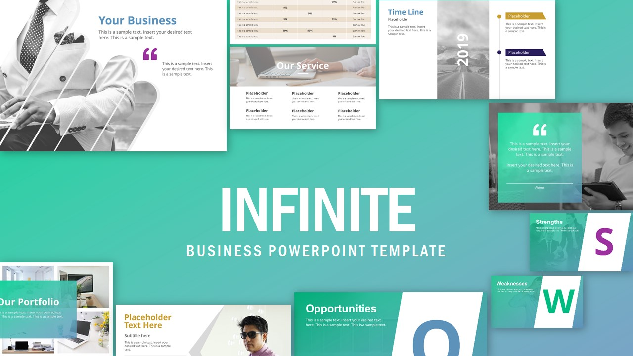 Slide Deck for Business Presentations