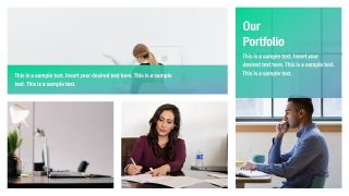 PPT Portfolio of Business Services