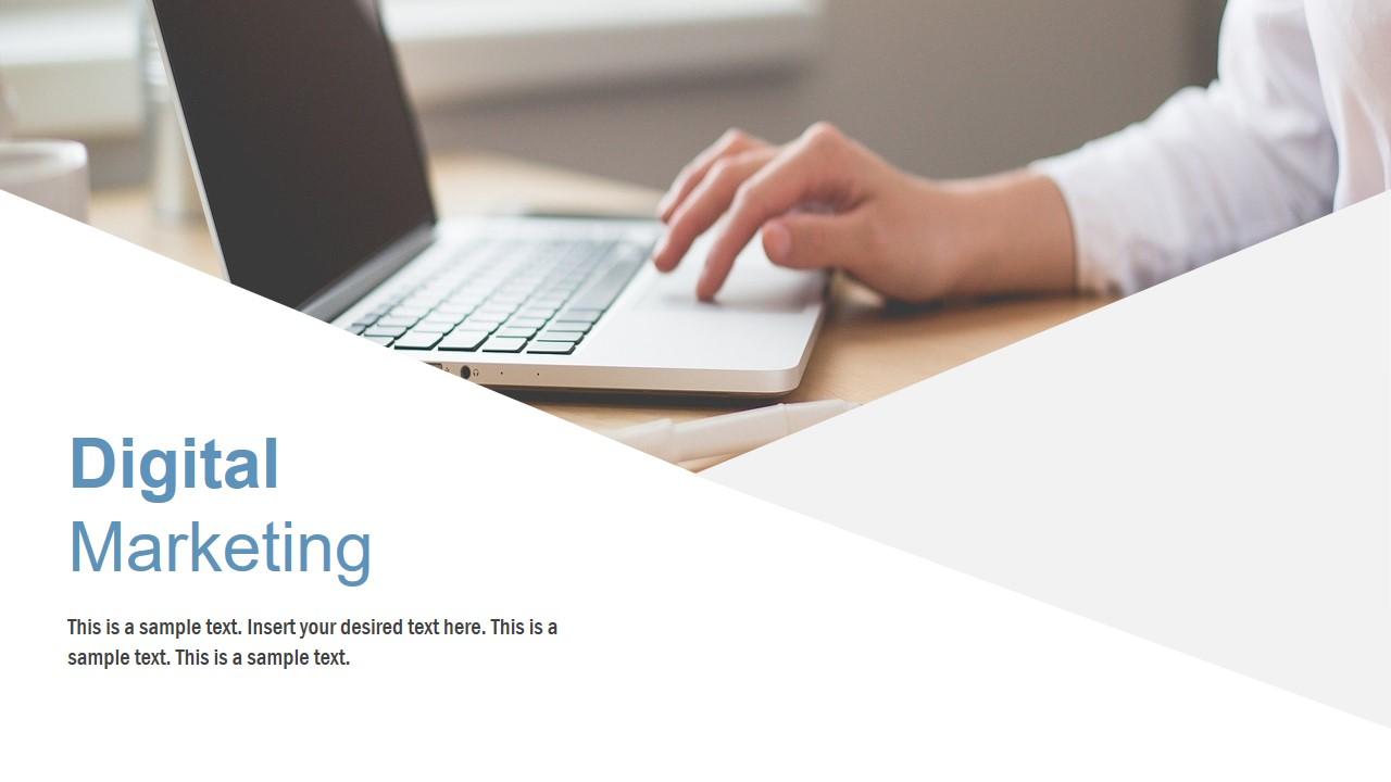 Digital Marketing PowerPoint Layout