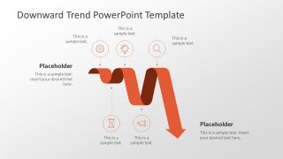Downward Trend PowerPoint Template