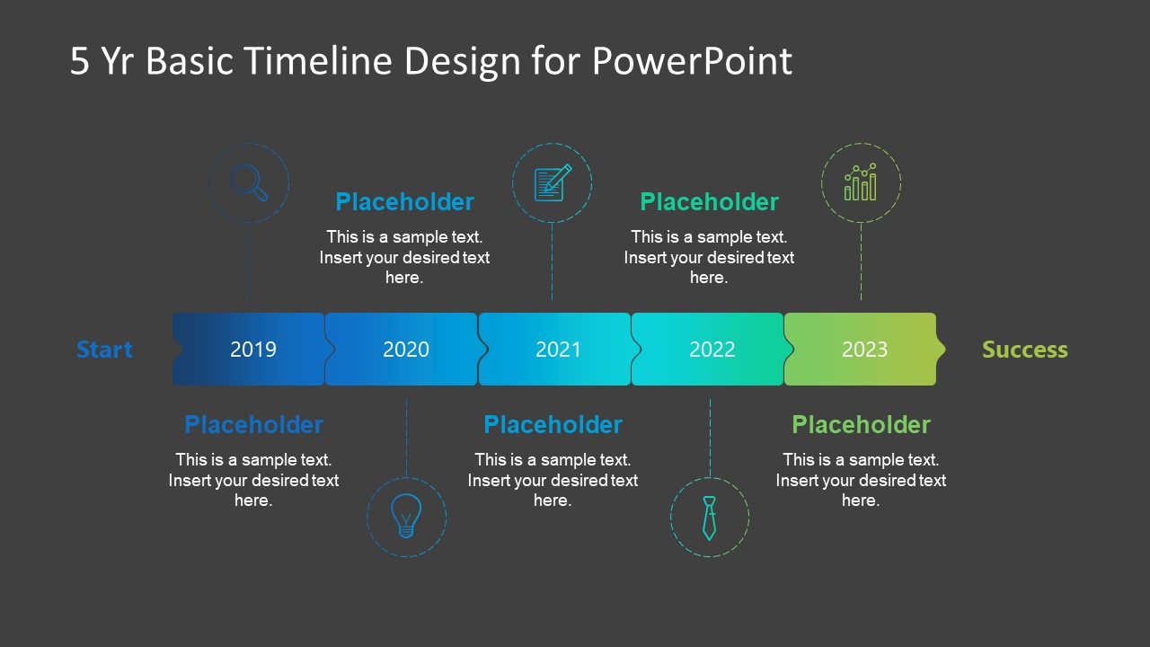 PowerPoint Timeline Diagram Layout