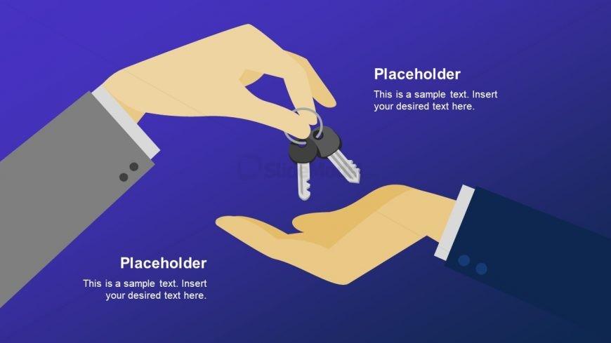 Keys and Hands Template Design
