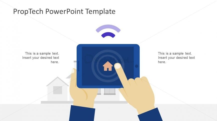 Slide of WIFI and Home Control