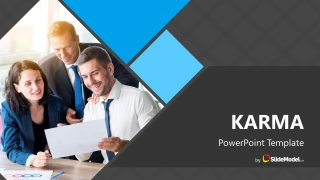 Karma PowerPoint Template