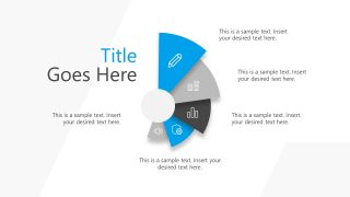 Infographic PowerPoint of 4 Steps