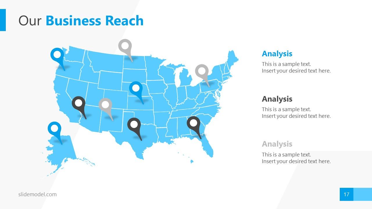 Business Reach Silhouette Template