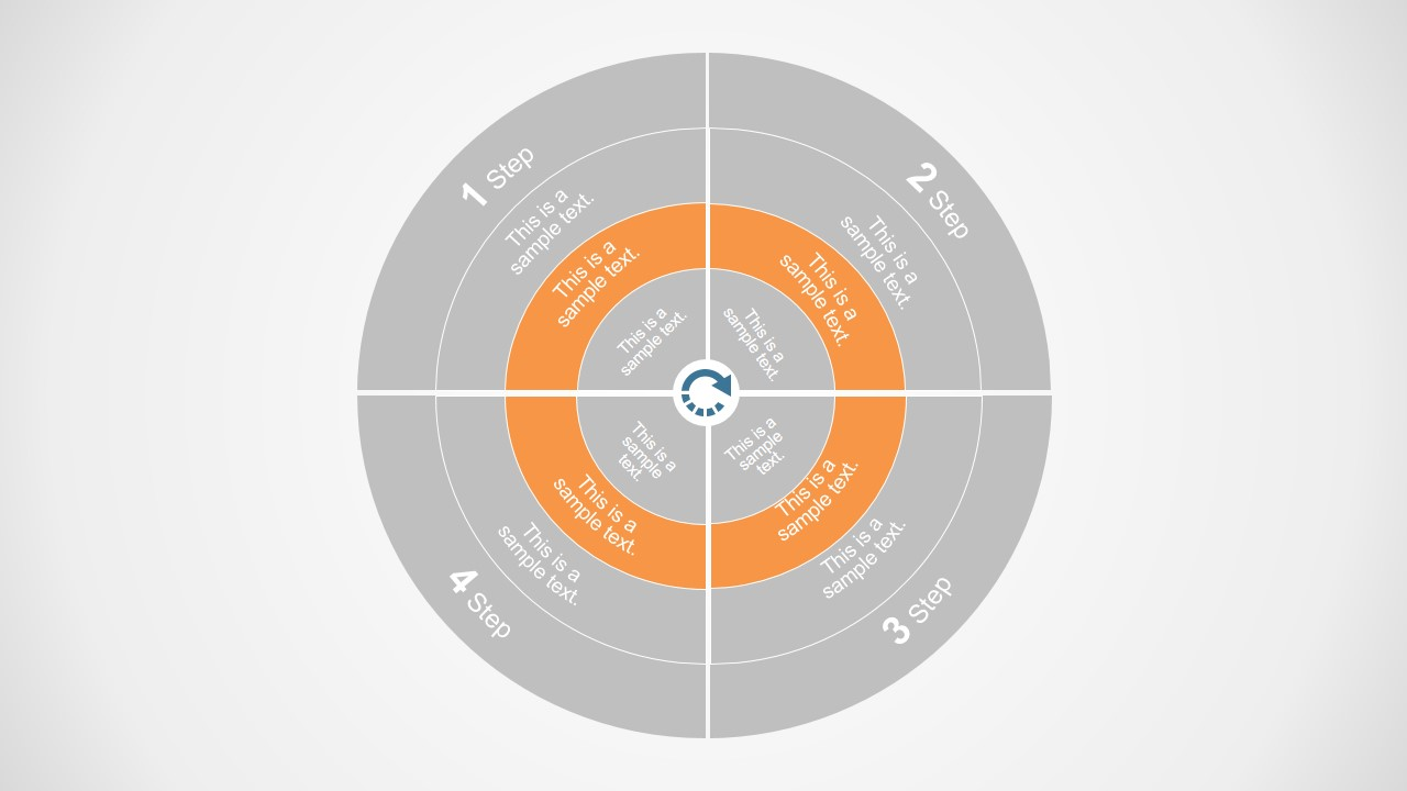 Flat Concentric Circle Template