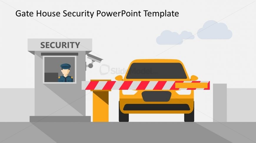 Illustration of Security in PowerPoint