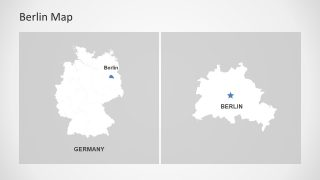 Berlin and Germany Map Template