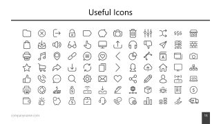 Infogrpahic PowerPoint Clipart Icons