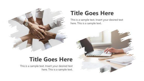 Business Minimalist PowerPoint Slide