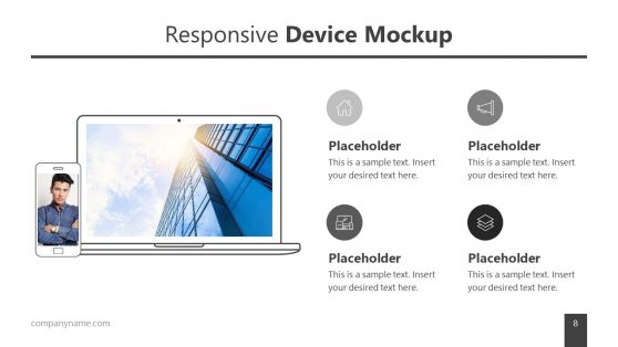 Responsive Device Mockup Template