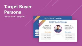 Layout of Buyer Persona Target Customers