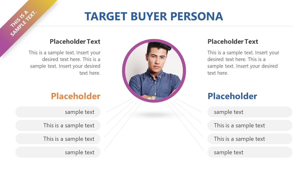 target buyer persona powerpoint template