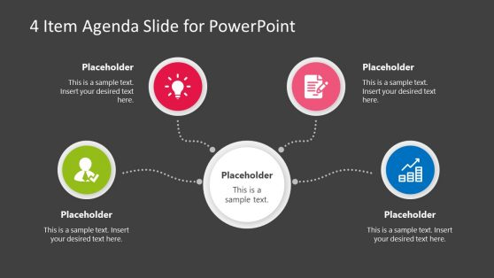 Business PowerPoint Agenda Presentation