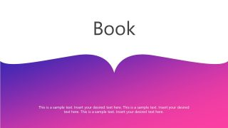 Book Background Design PPT