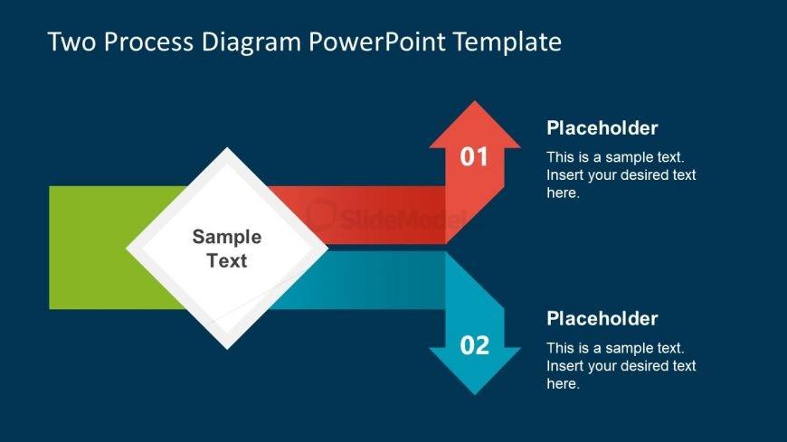 Creative Process Flow Diagram Design