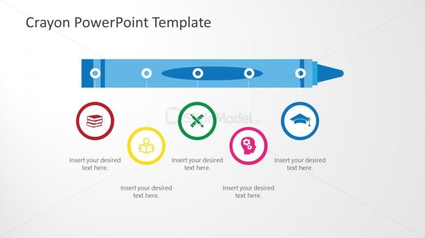 Horizontal Timeline Template Design