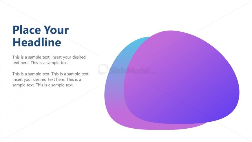 Cutout Oval PowerPoint Gradient