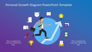 Personal Growth PowerPoint Template Metaphors