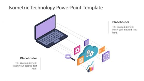 Technology Clipart Isometric Template