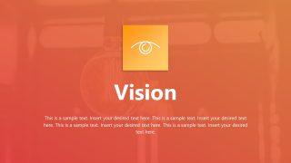 Slide of Eye Clipart for Vision